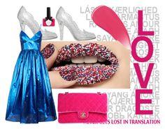 """Glitter Lips Ciaté"" by uxorinmanu ❤ liked on Polyvore featuring beauty, Chanel, Ciaté, Dolce&Gabbana, Malene Oddershede Bach and Burberry"