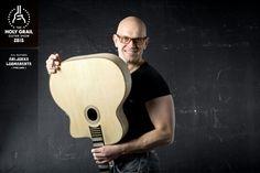 Exhibitor at the Holy Grail Guitar Show 2015: Ari-Jukka Lamaranta, AJL-Guitars, Finland. http://www.ajl-guitars.com, https://www.facebook.com/pages/AJL-guitars/503620479756820, http://holygrailguitarshow.com/exhibitors/ajl-guitars/
