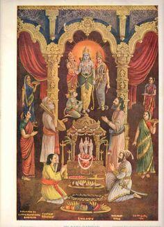 Vintage Old Rare Hindu God Shree Rama Dershan  Beautiful Print RS EHS picclick.com Krishna Hindu, Hindu Deities, Yashoda Krishna, Shiva Shakti, Hanuman, Om Namah Shivaya, Indian Gods, Indian Art, Indian Prints