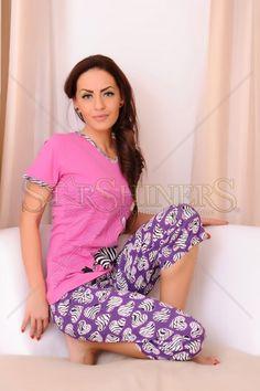 Pijama Cute Zebra Lila