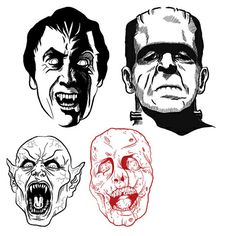 Tifas Horror Vectors1