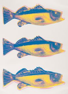 Andy Warhol (1928-1987), 1983, Fish (F. & S. IIIA.41), Screenprint in colors. #Fish #April1st