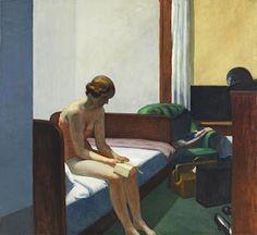 Hopper, le peintre qui a choisi le faux immobilisme pour mieux décrire le mouvement perpétuel de son pays.