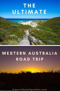 The Ultimate West Coast Australia Road Trip – Big World Small Pockets - work travel West Coast Australia, Western Australia, Perth Australia, Work And Travel Australia, Melbourne, Australian Road Trip, West Coast Road Trip, Road Trip Destinations, Road Trip Hacks