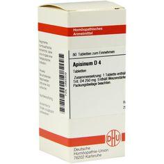 APISINUM D 4 Tabletten:   Packungsinhalt: 80 St Tabletten PZN: 02893309 Hersteller: DHU-Arzneimittel GmbH & Co. KG Preis: 5,95 EUR inkl.…