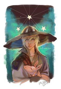 Cole portrait from Dragon Age Inquisition