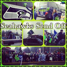 Seahawks Send-off to the Super Bowl