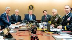 The execution and aftermath of the raids that took down Osama bin Laden and Abu Bakr al-Baghdadi were as different as the presidents overseeing them. But in one area they converged: Barack Obama and Donald Trump both wanted to watch. Barack Obama, Obama Y Trump, Abu Bakr Al Baghdadi, Meme Costume, Jimmy Carter, Mike Pence, Donald Trump, Joe Biden, Cuddling
