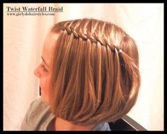 twist waterfall braid 6