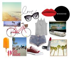 Daydreaming Cali by krisztina-holovcsak on Polyvore featuring One Teaspoon, Converse, Dolce&Gabbana, DuWop, Universal Lighting and Decor, Shimano, women's clothing, women's fashion, women and female