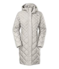 The North Face Women's Transit Parka (Small, Moonlight Ivory)
