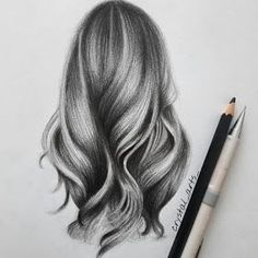Hair Study Portrait Drawings - Hair Study by S Mutlu - . - Hair Study Portrait Drawings – Hair Study by S Mutlu – - Cool Art Drawings, Pencil Art Drawings, Realistic Drawings, Art Drawings Sketches, Cartoon Drawings, Hair Drawings, Drawing Drawing, Gesture Drawing, Cartoon Faces