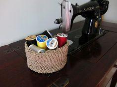 B is for Becky: (weekend diy) crochet basket pattern