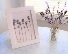 levantica Handmade Lavender Products by FleurEscents on Etsy Should You Buy A Vibrating Chair For Yo Lilac Walls, Lavender Walls, Lavender Decor, Lavender Bathroom, Lavender Flowers, Dried Flowers, Lavender Bedrooms, Vintage Rosen, Floral Chandelier