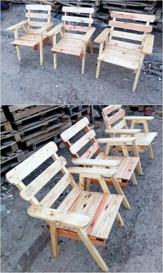 The Best and Easiest DIY Ideas with Recycled Wood Pallets: Let's give your dream home the feel of reality by showing you out with some of the mesmerizing and charming ideas of the old shipping wooden pallets. Pallet Couch, Wood Pallet Furniture, Pallet Chairs, Headboard Shapes, Rough Wood, Pallet Designs, Pallet Projects, Pallet Ideas, Pallet Creations