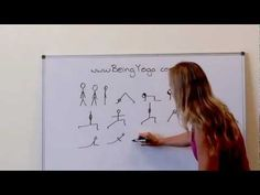 Yoga pose stick figure tutorial #All-BodyYoga #YogaPassionista