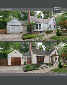 House Paint Exterior, Exterior House Colors, Exterior Design, Home Exterior Makeover, Exterior Remodel, House Front, Front Porch, Front Of Houses, House Makeovers