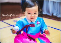 Baby's Korean 1st Birthday Dol www.thruviewfinder.com