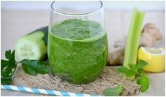 Green Protein Detox Smoothie-Top 8 Green Detox Smoothie Recipes For Weight Loss