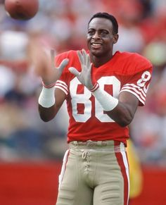 One of the BEST!  Jerry Rice.