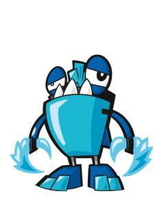 a6c027cc30af LEGO.com Mixels Explore - Characters - Frosticons - Slumbo School Bags