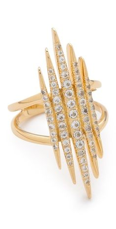 Elizabeth & James Northern Star Statement Ring
