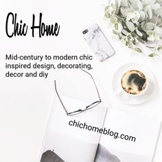 Just launched the Chic Home Blog! So excited about my new adventure! Inspired Design, Decorating, DIY and Decor for Your Home. Projects and ideas for creating your own uniquely chic style!  #diy #decorating #blog #interiordesign #diydecorating #blogger #chichomeblog #inspiration #designinspiration
