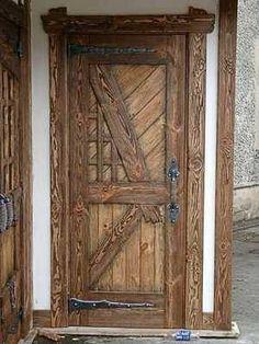 Дверь под старину Олимп