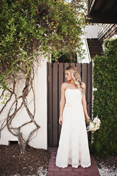 Morgan and Wes' Rosemary Beach wedding | Photo by Oeil Photography