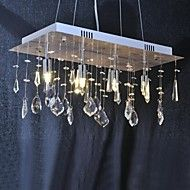 40W+Chandelier+,++Traditional/Classic+Chrome+Feature+for+Crystal+Metal+Living+Room+/+Dining+Room+/+Hallway+–+USD+$+167.99