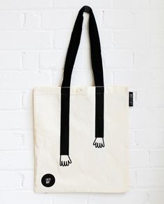 Lazy Oaf tote, new at the little dröm store.