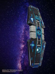 Roulfe Technologies - Terraforming Cruiser | by DR.Church