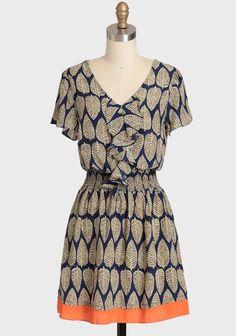 Lovely Leaves Dress