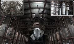 USSR space shuttles once NASA's competition sit abandoned in hangar