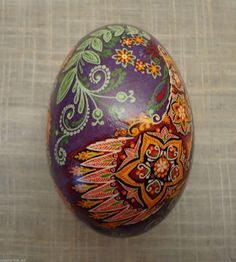Ukrainian Pysanka by Oleh K GOOSE Easter Egg Pysanky | eBay