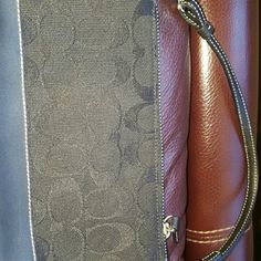 Black Coach Mini Bag Has been worn but in great condition. Coach Bags Mini Bags