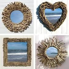 Image result for how to make a driftwood mirror