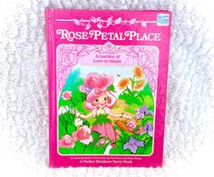 An absolutely adorable 1984 Rose Petal Palace book  A garden of love to share. Great vintage condition with minimal signs of use and play. Please see all pictures up close for a thorough representation! :) I have TONS more cute vintage items for sale like this in my Etsy shop - check it out for super cheap shipping discounts! (Nearly free!)  I ship WORLDWIDE from a clean, pet & smoke-free home! Please note that shipping times will be slower OUTSIDE of the US & Canada (up to 3 months), and…