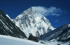 K2 8,611 meters - world's second highest mountain, Pakistan