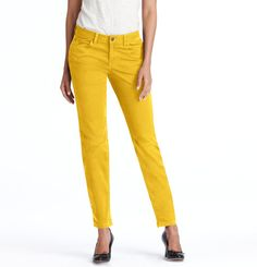 Coming to a body near me as soon as the store gets it in my size!    Loft - LOFT Denim - Color Pop Curvy Skinny Jeans