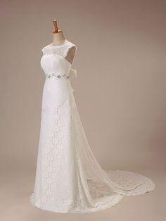 Intricate Sexy A-line Strapless Designer Lace por Foreverus999