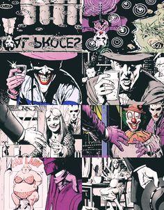 Batman: The Killing Joke ... I love a good story with good parallels!