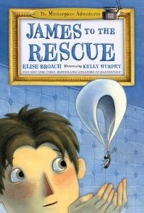 James to the Rescue! [Masterpiece Adventures] by Elise Broach; illus. by Kelly Murphy Primary   Ottaviano/Holt   104 pp. 10/15   978-1-62779-316-2   $15.99   g e-book ed. 978-1-62779-317-9   $9.99 There is something universally compelling about little critters having their own world, mostly hidden from adults (witness the staying power of the Littles, the Borrowers, and the Doll People), and …