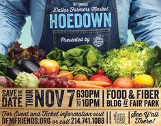 Get Invovled - Event & Campaign - Dallas Farmers Market Hoedown ...
