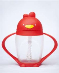 Looking for that perfect Easter Basket item for your toddler?  Get your Lollacup today!  Stylish, modern and whimsical straw sippy cup that appeals to parents and children alike.  Flexible straw has a weighted end that anchors in the liquid to help young children drink effectively, even when the cup is tilted.  Bonus feature?  The handles detach so it will fit in your cup holder.  Featured on ABC's Shark Tank.