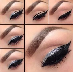 Love the ombré sparkle to black! Perfect for adding that little touch of sparkle.