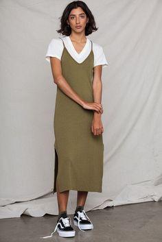 Cami Midi Dress #mooreaseal