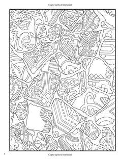 Creative Haven Mosaic Masterpieces Coloring Book Creative Haven ...