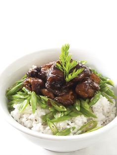 Chicken Adobo over Rice by Chef Sandralyn Hataway Chicken Adobo, Real Food Recipes, June, Beef, School, Ethnic Recipes, Meat, Steak, Healthy Food Recipes