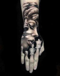 Chess Tattoo Meaning Dope Tattoos, 3d Tattoos, Tattoo On, Badass Tattoos, Tattoo Life, Body Art Tattoos, Sleeve Tattoos, Armor Tattoo, Warrior Tattoos